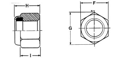 Nylon-Lock-Nut-Dimensions