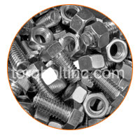 Alloy 20 Slotted Nuts