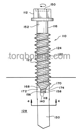 Concrete Screws Dimensions