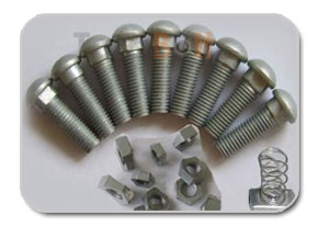 DIN 607 – Round Head Nip Bolts With Nuts