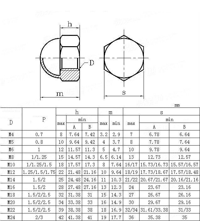 Dome Nuts Manufacturer Dome Nuts Fasteners Alloy