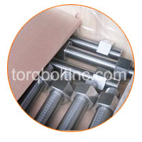 Incoloy 800H Fasteners Packaging