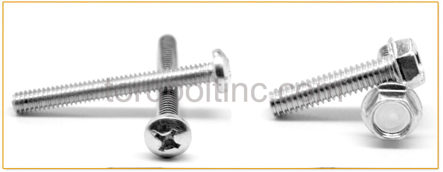 Original Photograph Of Thread Rolling Screws At Our Factory