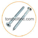 copper Nickel Wood Screw