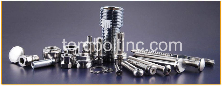 Original Photograph Of AISI 4130 Fasteners  At Our Factory