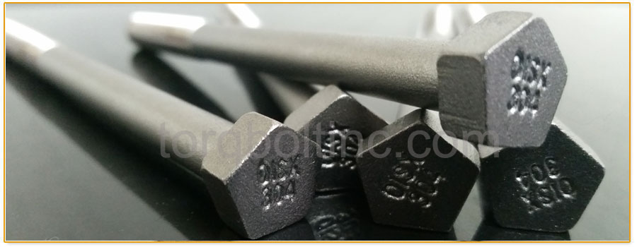 Original Photograph Of Penta Bolts At Our Factory