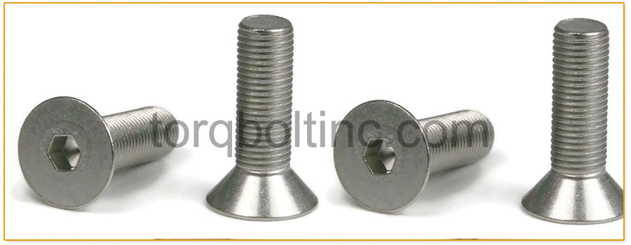ASTM F879 Stainless Steel Socket Button and Flat Countersunk Head Cap Screws