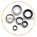 Titanium bond-sealing-washers