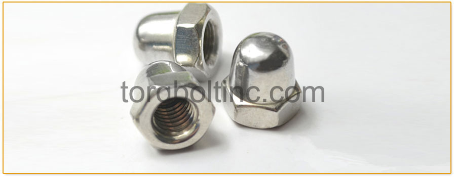 Fine Thread UNF 3//8-24 Acorn Cap Nuts 18-8 Stainless Steel 10 Pieces