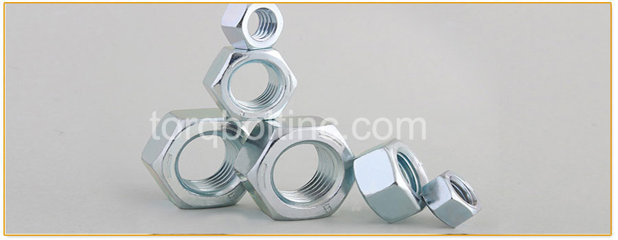 Original Photograph Of Finished Hex Nuts At Our Factory