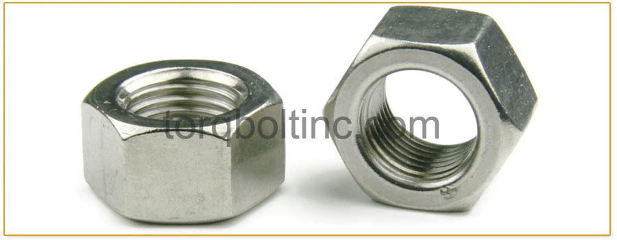 Original Photograph Of Heavy Hex Nuts At Our Factory
