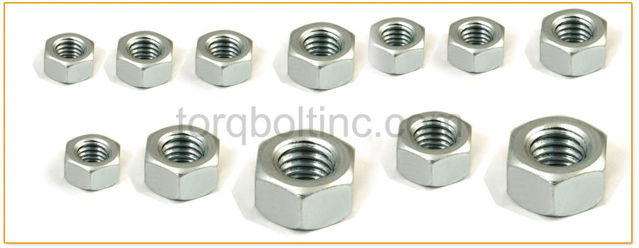Original Photograph Of Hex Machine Screw Nuts At Our Factory