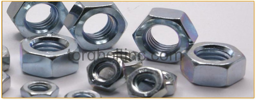 Original Photograph Of Hex Nuts At Our Factory