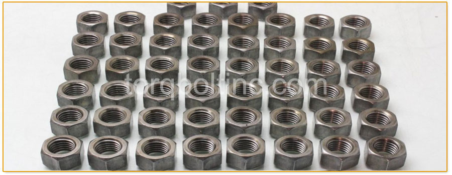Original Photograph Of Machine Hex Nuts At Our Factory