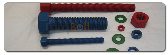 Manufacturers, Stockists & Distributors Of PTFE Coated Fasteners