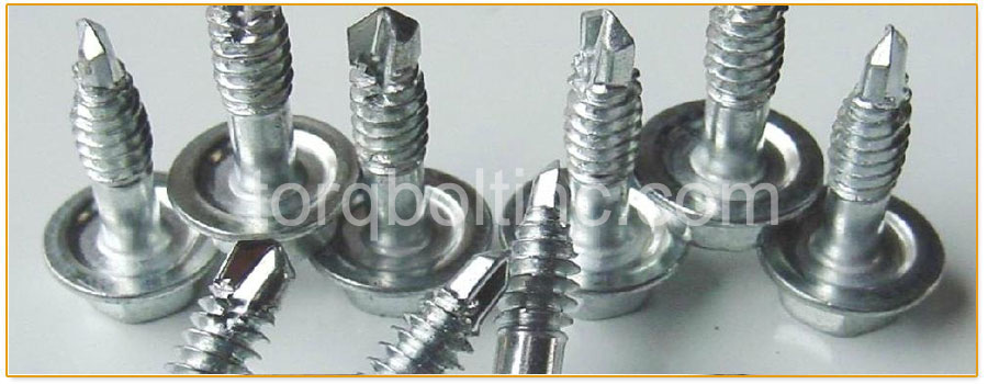 Original Photograph Of Self Tapping Screws At Our Factory