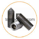 hastelloy b2 Set screws