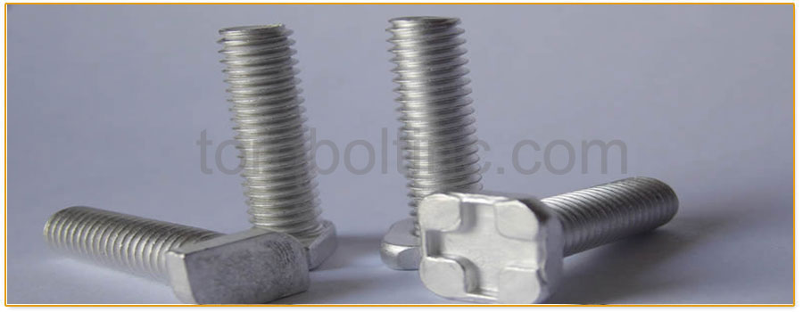 Original Photograph Of Square Head Bolts At Our Factory