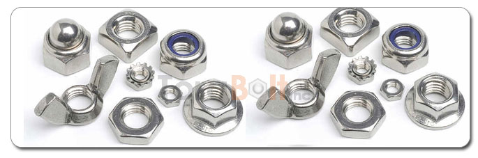 Manufacturers, Stockists & Distributors Of ASTM A194 Stainless Steel Nuts