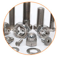 Titanium Serrated Flange Nuts