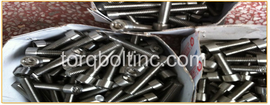 Original Photograph Of A453 Grade 660 Class C Bolts  At Our Factory