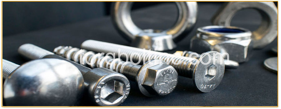 Original Photograph Of Monel 405 Fasteners At Our Factory