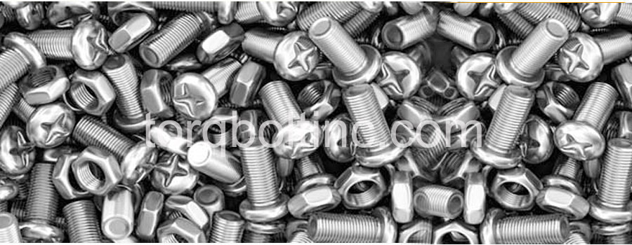 Original Photograph Of Monel K-500 Fasteners At Our Factory